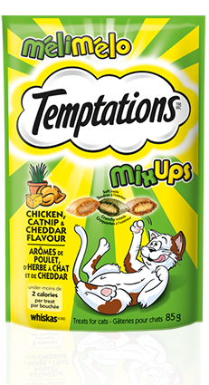 TEMPTATIONS™ Mix-Ups™ Chicken, Catnip and Cheddar Flavour